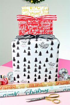 Our Fabulous Holiday Cards, Custom Wrapping Paper & Gifts! ⋆ Brite and Bubbly