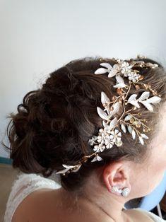 Haar accessoires trouwsieraad haarsieraad bruidskapsels bruidsmakeup aan huis of op locatie #boho #bridal #updohair #updo #wedding #wedinghair #feestkapsel #trouwjurk #bridalhair #Baarn #Soest #Amersfoort #Hilversum #Amsterdam #Utrecht #Bilthoven