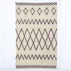 Kasbah Wool Rug - Ivory   west elm