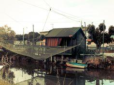 #cesenatico #fishermen #home #net #boat