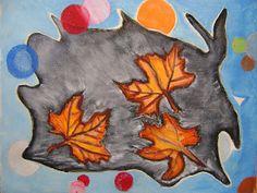 ARTES, DESARTES E DESASTRES CONTEMPORÂNEOS.: Junho - Julho de 2011 Celebração de outono Guache sobre papel telado