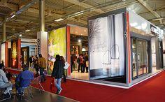 11η Κλαδική Έκθεση Ελληνικό Αλουμίνιο, Metropolitan Expo, 18-21 Απριλίου 2013  Πλαϊνή άποψη του περιπτέρου