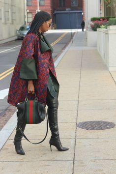 DIY floral brocade statement coat – Beaute' J'adore