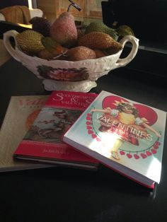 Sweet Valentine Books and Beaded Fruit!!