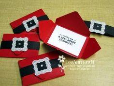 Scrapbook Tendance: Carte-cadeau