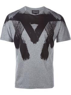 Emporio Armani Camiseta Com Estampa - Vitkac - Farfetch.com