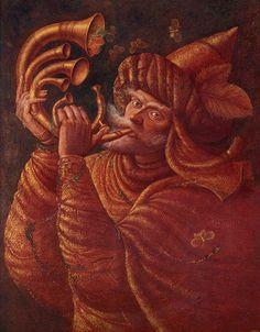 Hernán Valdovinos, 1948 ~ Magical Realism painter   Tutt'Art@   Pittura * Scultura * Poesia * Musica  
