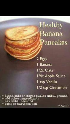 Banana Oat Pancakes Simply Filling