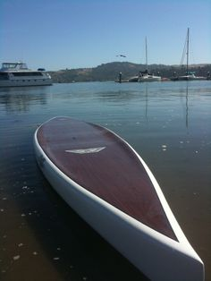 wooden SUP