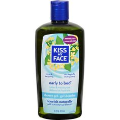 Kiss My Face Bath and Shower Gel Early to Bed Clove and Ylang Ylang - 16 fl oz - Kiss My Face Bath and Shower Gel Early to Bed Clove and Ylang Ylang Description: do what comes naturally Calming Bath and Shower Gel Early To Bed Youll unwind and escape with this calming bath and shower gel that uses time tested botanicals like close and ylang ylang, known to soothe the body and mind. Natural plant based cleansers and Moisturizing aloe leave skin smooth, soft and satisfied. Free Of artificial…