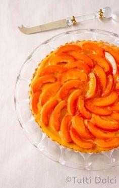 apricot curd tart @Laura Jayson | Tutti Dolci