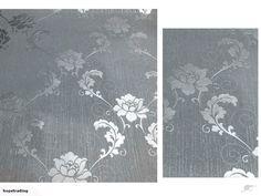 Luxury Wallpaper--silver flower | Trade Me