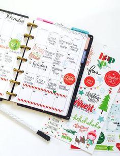 December Bucket List in the MINI Happy Planner™ of mambi Design Team member Marisa Yciano   me & my BIG ideas