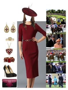 """Attending day 5 of Royal Ascot"" by duchessofoxfordshire ❤ liked on Polyvore featuring Jimmy Choo, Torula Bags, Elsa Peretti, Mark Broumand, Chico's and 1928"