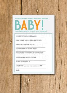 All About The Baby   New Sibling Gift, Baby Predictions, Baby Shower Game,  Sibling Shower Gift, All About My Sibling, New Baby Shower Game | Baby  Prediction ...