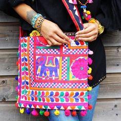 india bag - elephant