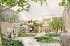 Gardens - Elderly centre, Marge Arkitekter Future project - Residential