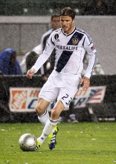 2f54659f7ad David Beckham Photos Photos: David Beckham and the LA Galaxy suffored a 3-1  loss to New England Revolution after a rainy evening at the Home Depot  Centre