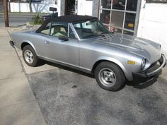 The most fun car I ever had. Mine was a metal green color with teak. Fiat X19, Fiat 124 Spider, Fiat Abarth, Steyr, Cars For Sale, History, Metal, Board, Green
