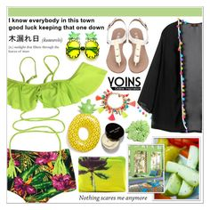 """Yoins 8/10 ♥"" by av-anul ❤ liked on Polyvore featuring Samudra, Big Mouth, Lilly Pulitzer and Bobbi Brown Cosmetics"