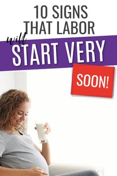 10 Signs that labor is coming soon! If you are in your third trimester of pregnancy particularly above 36 weeks then you baby could be due any moment. Find out how close to labor you really are with these 10 helpful signs. #pregnancy #childbirth #pregnant #birth Signs Of Labour, 36 Weeks Pregnant, Brace Yourself, All About Pregnancy, Trimesters Of Pregnancy, Third Trimester, Brown Skin, You Really, New Moms