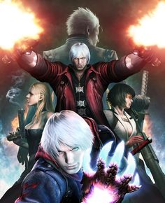 Five Playable Characters to Star in Devil May Cry 4 Special Edition (Including Vergil and Lady!)