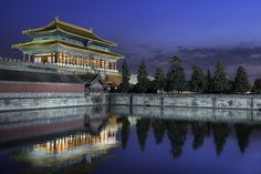 Reflections Of The Past - (Beijing, China) by blame_the_monkey, via Flickr
