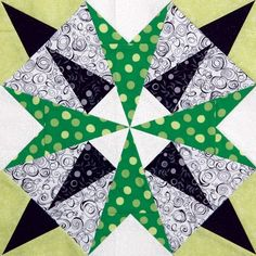 Emerald Isles by Nancy Mahoney - Quiltmaker Volume 7