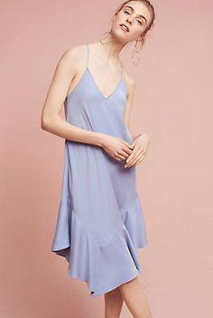Jill Slip Dress, Blue
