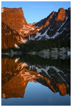 ☆ Dream Reflection: Dream Lake - Rocky Mountain National Park, Colorado :→: Photographer Nate-Zeman ☆