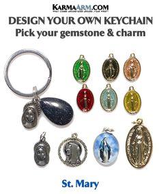 #mother #Mary #virgin #St.Mary #green #miracle #medal #spiritual #faith #catholic #jesus #christian #miraculous #divine #christianity #bible #god #archangel #patron #saint #michael #guardian #angel #mindful #rainbow #meditation #mantra #awareness #happiness #love #diamond#key #ring #Chain #keychain #keyring Jewelry Gifts, Yoga Jewelry, Handmade Jewelry, Handmade Gifts, Jewellery, Rose Quartz Heart, Chakra Bracelet, Green Aventurine, Chakra Healing