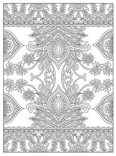 Magnificent Mehndi Designs Coloring Book Dover Publications