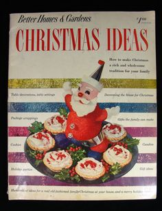 Better Home And Gardens Christmas Ideas A collection of better homes gardens christmas ideas magazine 1952 1952 better homes and gardens christmas by milehivintageandmore 899 workwithnaturefo