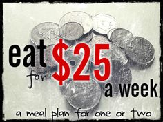 happy life.: Eating on $25 a week: You can! Definitely a good read!!