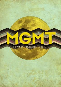 MGMT music  posters   MGMT1