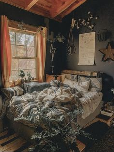A mix of mid-century modern bohemian and industrial interior style. Home and apartment decor decoration ideas home design Room Ideas Bedroom, Bedroom Inspo, Design Bedroom, Diy Bedroom, Bedroom Rustic, Bedroom Beach, Bedroom Furniture, Furniture Chairs, Bedroom Colors