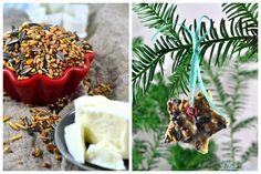 Vogelfutter selber machen Vögel füttern Winter Meisenknödel Maisenknödel DIY Winterfutter