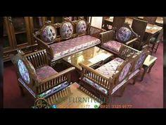 50 Pilihan Model Kursi Tamu Jati Jepara, Hp,Wa 082133259177, Kursi Tamu Ukir Jati Jepara - YouTube