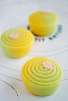 "JAPANESE SWEETS TITLED ""SPRING MEMORIES"""