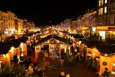 Floating Christmas Market, Nieuwe Rijn