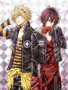 Amnesia Toma and Shin. <---- don't know this anime but I want to watch it now <<<amnesia and apparently its as confusing as fudge cakes Amnesia Anime, Amnesia Shin, Anime Sexy, Hot Anime Boy, Manga Anime, Manga Boy, Awesome Anime, Anime Love, Amnesia Memories