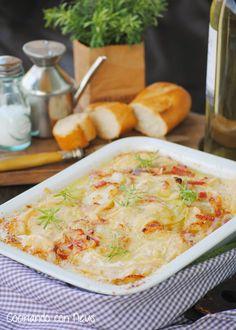 Cocinando con Neus: Tartifflette con Reblochón de Saboya