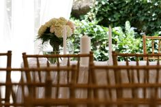 patio ceremonies... Spring Summer, Patio, Wedding Ideas, Table Decorations, Weddings, Furniture, Home Decor, Decoration Home, Terrace
