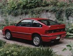Honda CRX-Si (1986). Exactly like my first car.