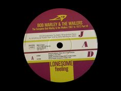 2002 - LP 61079   - The Complete Bob Marley & Wailers 1967 To 1972 Part 6 - Lonesome Feeling - Jad Records