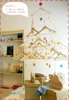 Repurpose wood hangers - 16+ projects!