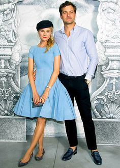 Diane Kruger and Joshua Jackson @ Chanel Haute Couture Fashion Show