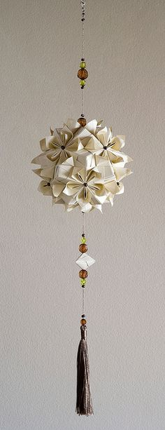 Double flower kusudama by credo_vsegda