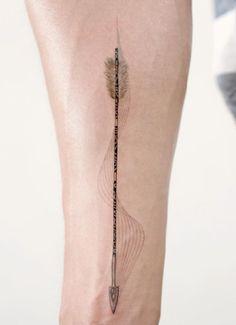 Narrow arrow by Doy