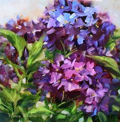 Hand Picked Hydrangeas...Nancy Medina